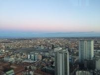 panorama milanese dalla torre del palazzo della Regione