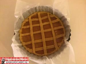 in forno crostata marmellata frolla olio EVO