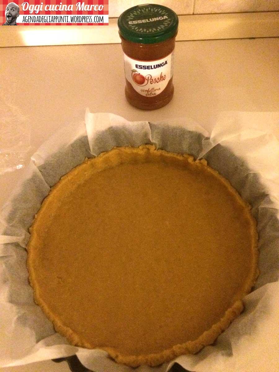 teglia crostata marmellata frolla olio EVO