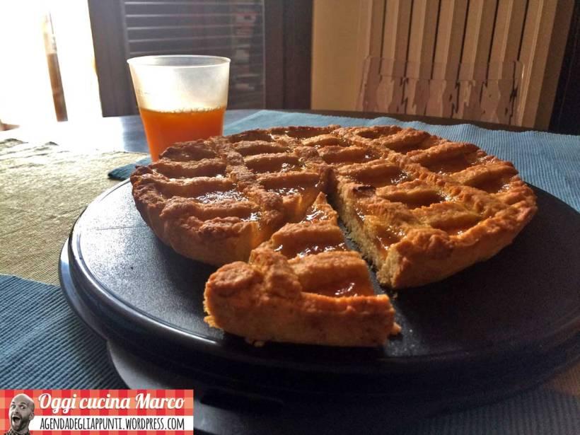 crostata marmellata pasta frolla olio EVO
