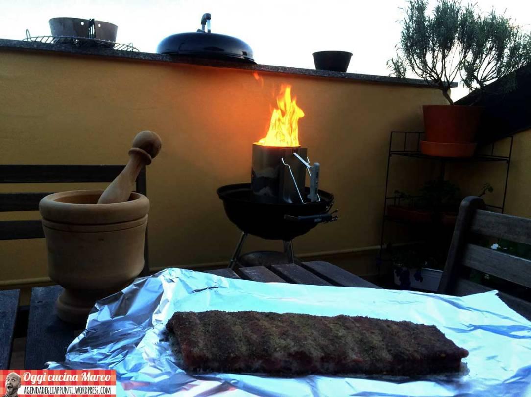 come preparare le costine alla griglia nel weber grill