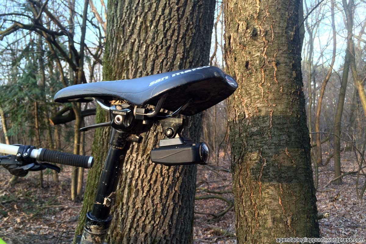 shimano action camera sella san marco seat post view go pro fish eye
