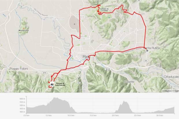 Traccia-Cammino-di-Francesco-La-Foresta-Fonte-Colombo
