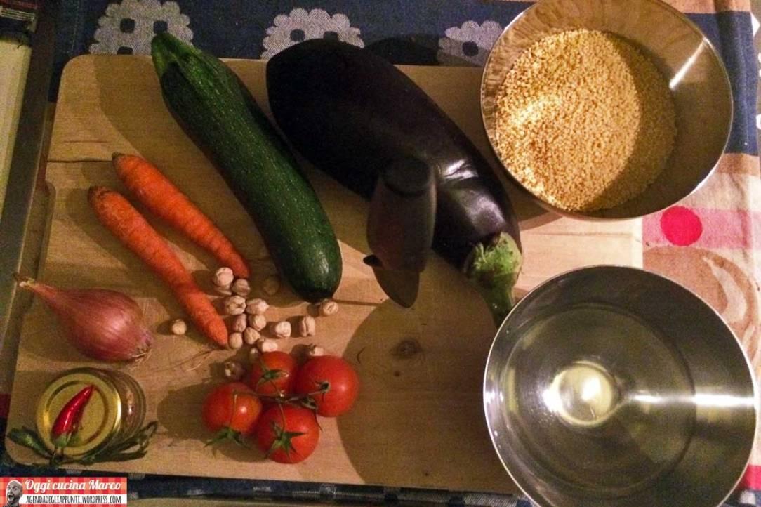 come preparare il cous cous vegetariano