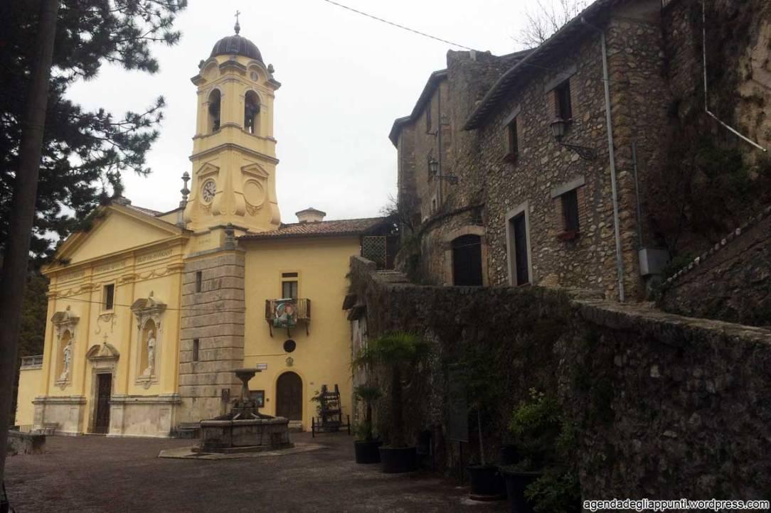 santuari francescani in bicicletta chiesa di san felice cantalice