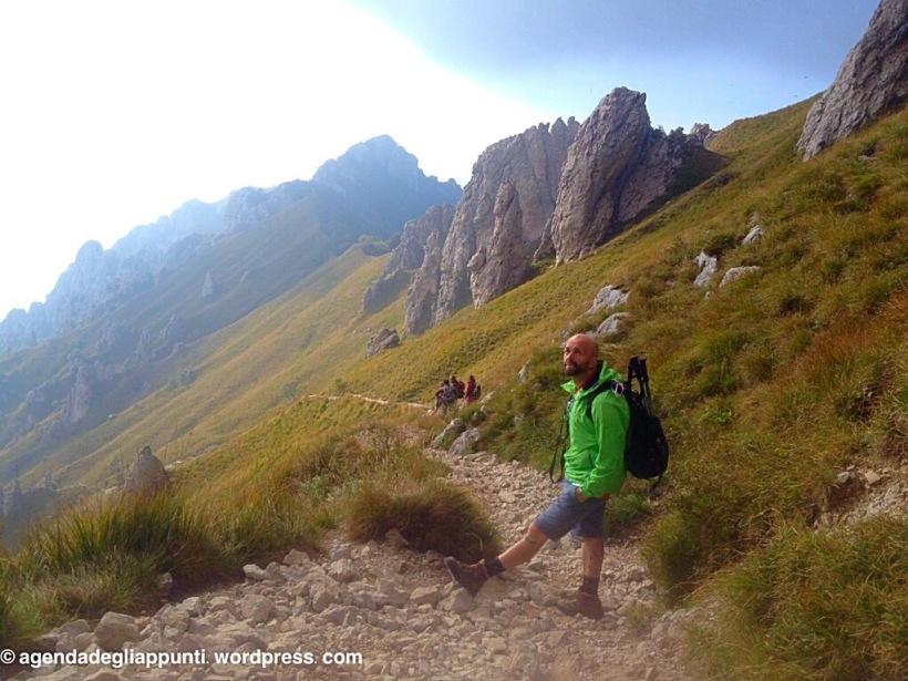 passeggiare in montagna sulle grigne lago di lecco trekking timberland camelabk hiking