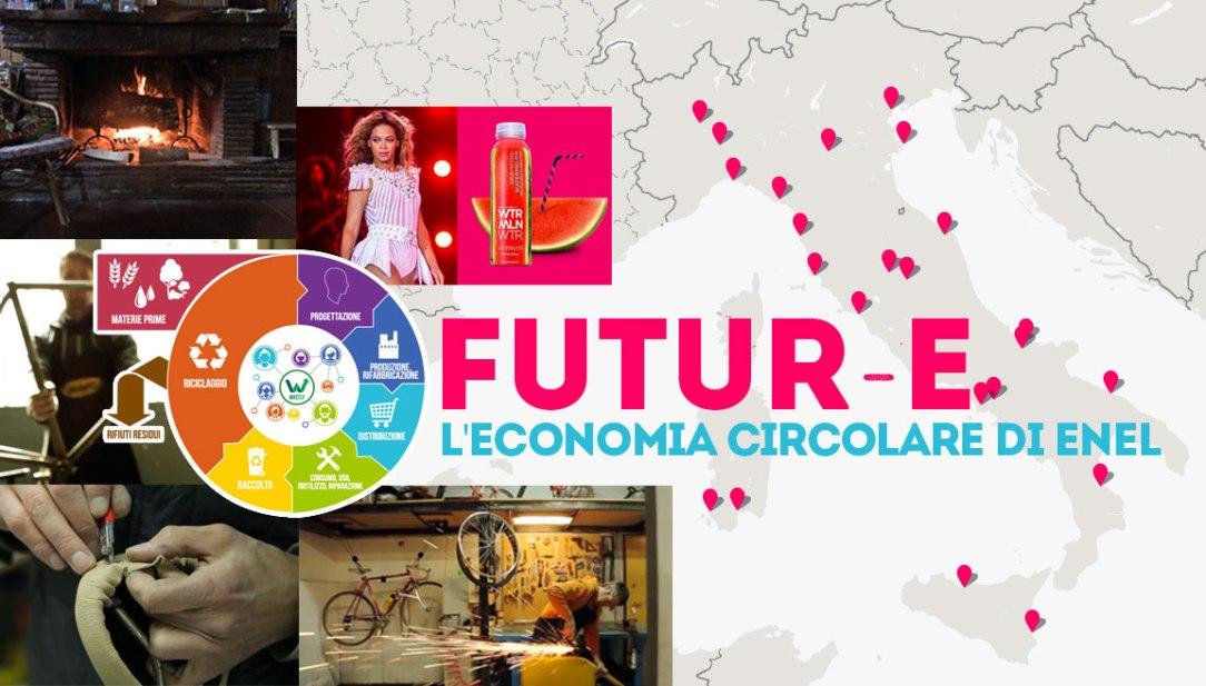 enel candidata al premio the circular per l'economia circolare che viene assegnato annualmente al world economic forum di davos