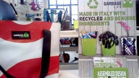 Garbage Lab valigeria genuina Made in Italy borse e accessori realizzati con materiali reciclati e genuini