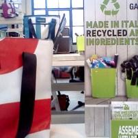 Garbage Lab valigeria genuina Made in Italy borse e accessori realizzati con materiali reciclati e genuini