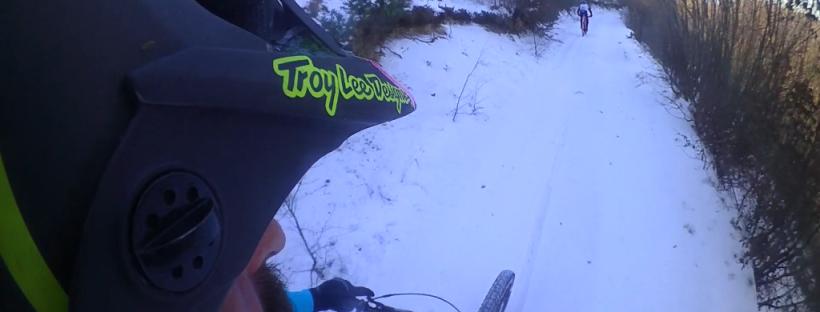 MTB flow hunter killing friday mountain bike sulla nve di venerdì a santa rufina alle pendici del terminillo estratto dalla action camera shimano cm 1000