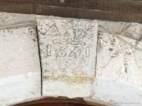 il casale d'antoni a santa rufina in provicia di rieti è stato costruito nel 1641 come testimonia l'incisione nel marmo