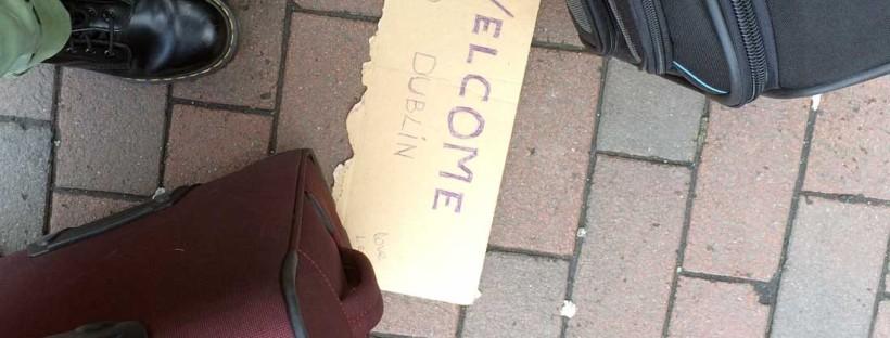 Benvenuti a Dublino natale a dublino