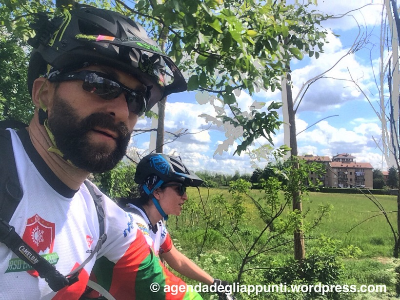 dighe del panperduto in bicicletta da milano mountain bike gravel bike