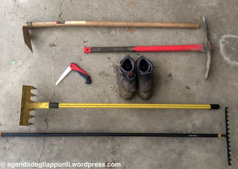 trail building tools check corso imba val di sole