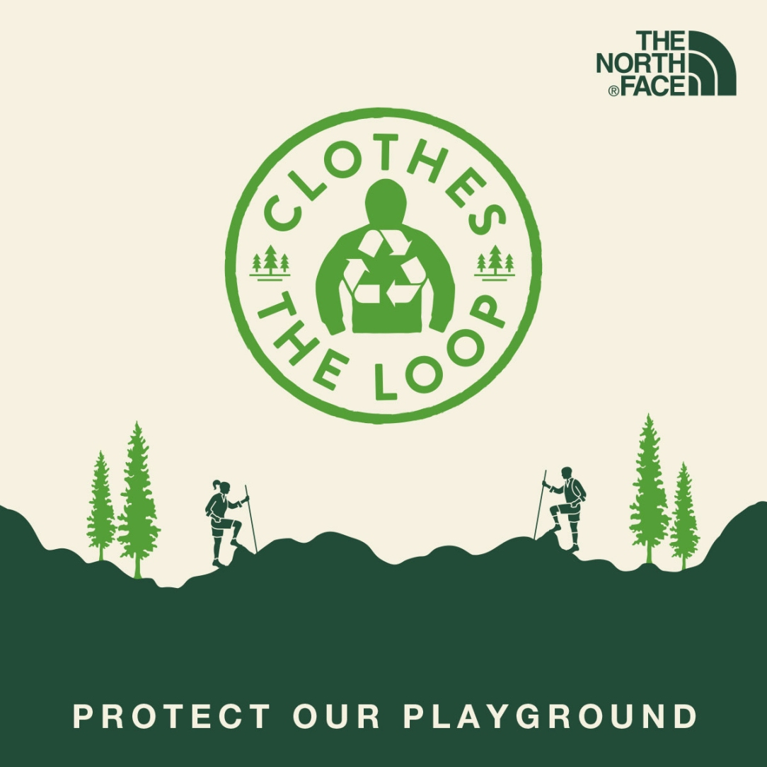 clothes the loop the north face protect the enviroment circula economy the circular prize