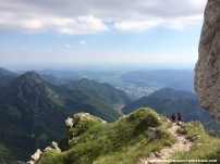 trekking anello del resegone punta cermenati pianura padana brianza panorama