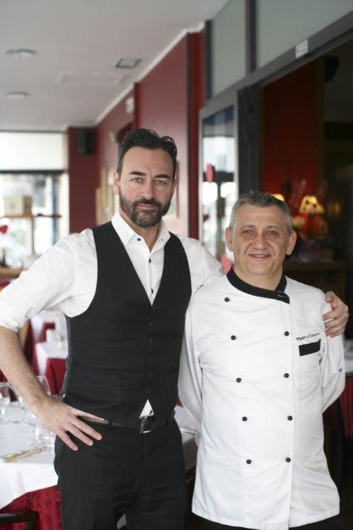 chef mauro civerio terrazza manzotti ristorante romantico cena fidanzamento anniversario matrimonio