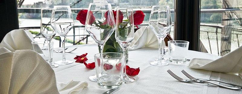 ristorante romantico Terrazza Manzotti bergamo cena fiume adda sponda amore san valentino anniversario matrimonio fidanzamento