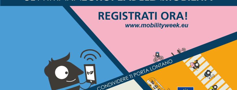 settimana europea mobilità sostenibile condivisione ministero bicicletta sharing caring trasporto pubblico