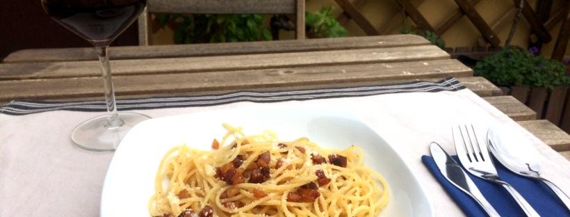 spaghetti alla gricia pasta antenati sugo amatriciana amatrice guanciale pecorino pastori lazio roma campagna romana