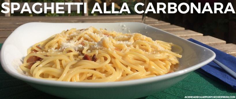 preparare gli spaghetti alla carbonara secondo la ricetta originale romana con guanciale e pecorino romano