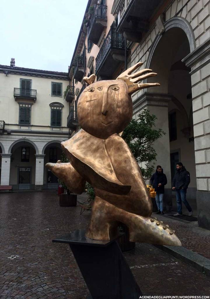 arte contemporanea sculture pinerolo