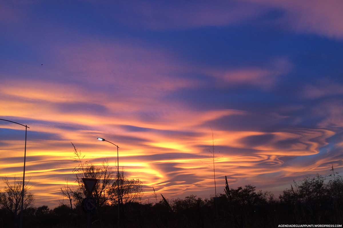 tramonto milano