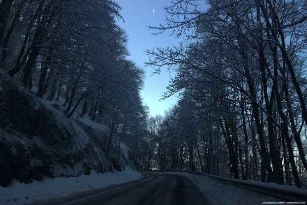 ciaspole sul monte terminillo trekking sulle piste da sci di fondo freeride sulla neve fresca