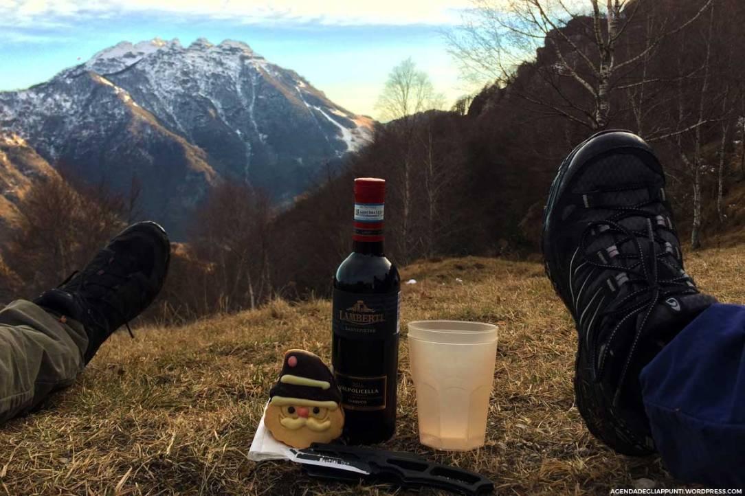 escursionismo trekking lago di lecco valsassina monte due mani vista impareggiabile