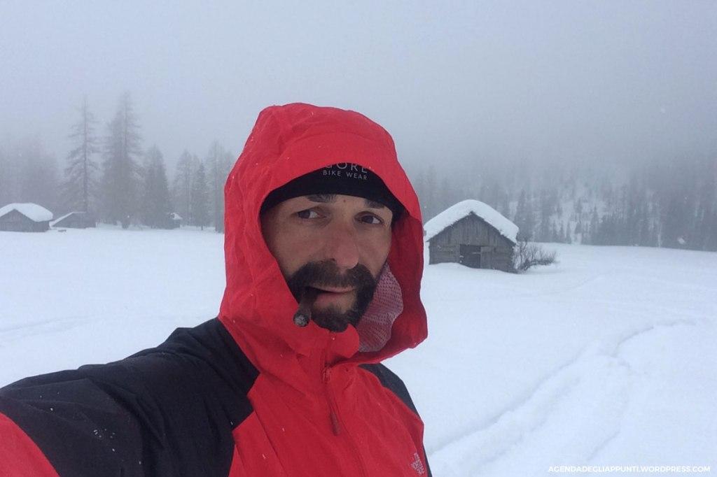 sentiero cascata pisciadu corvara neve north face