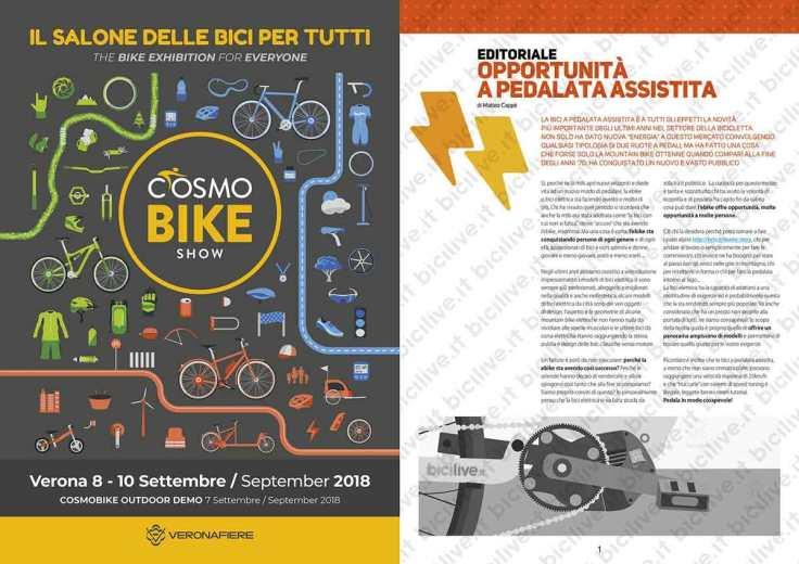 catalogo biciclette elettriche 2018 bicilive editoriale matteo cappè