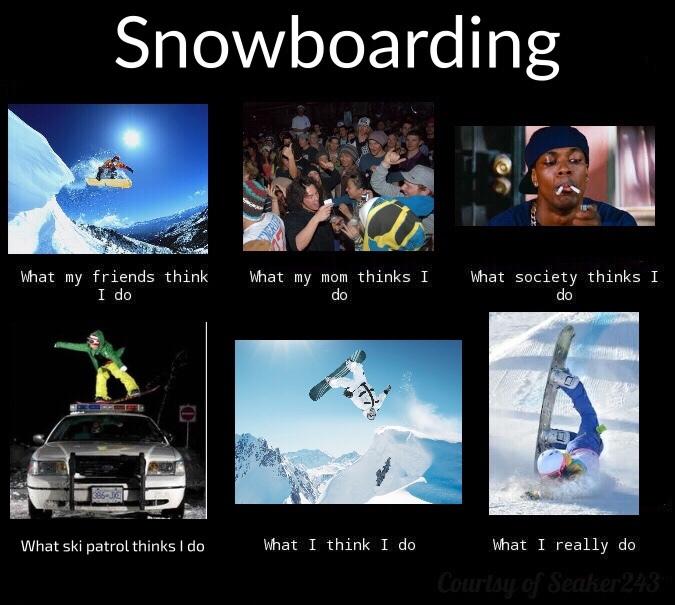 snowboard meme