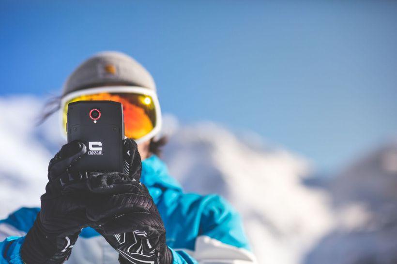crosscall telefono outdoor montagna impermeabile tenuta stagna