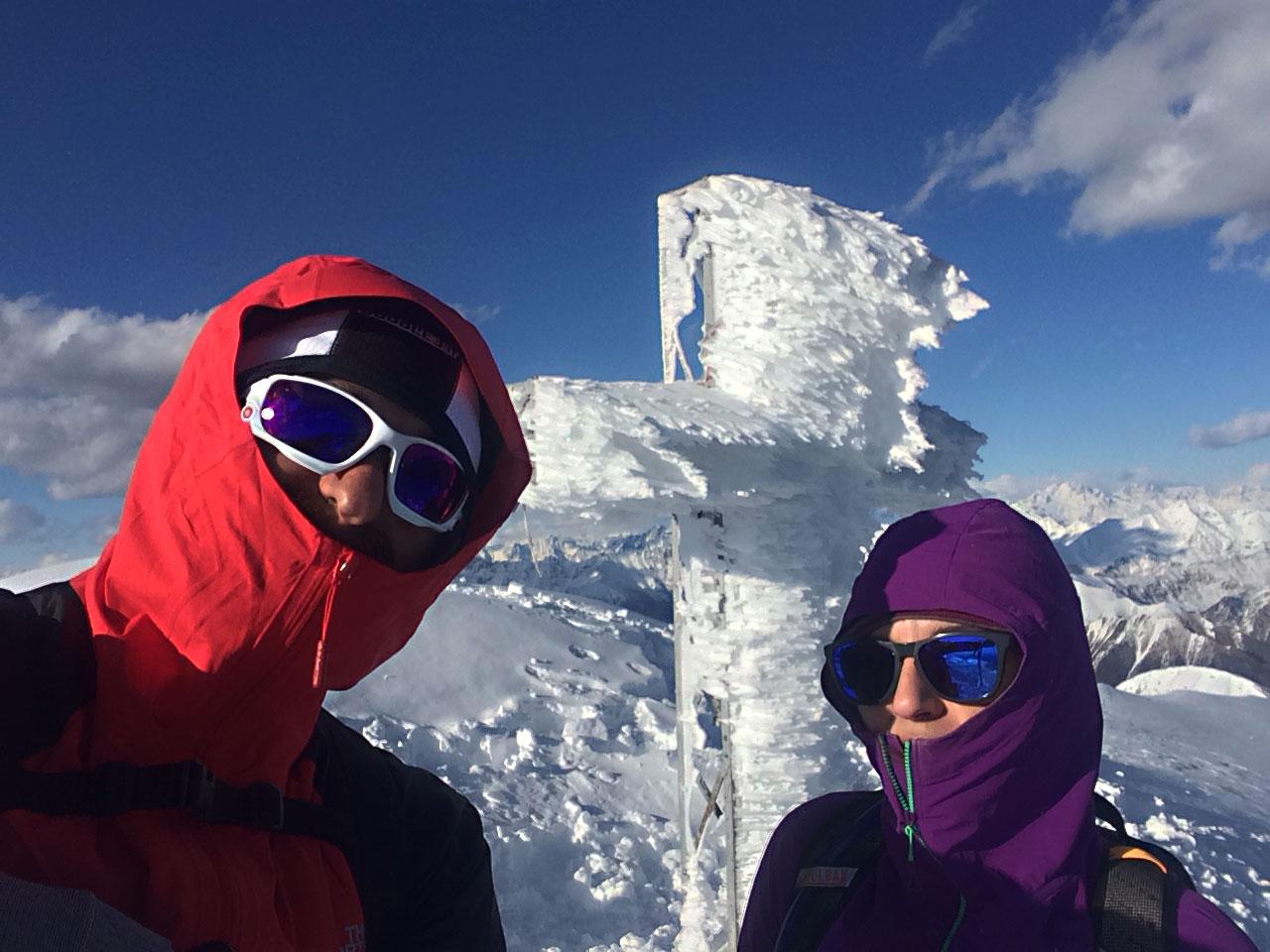escursione invernale grigna settentrionale rifugio brioschi