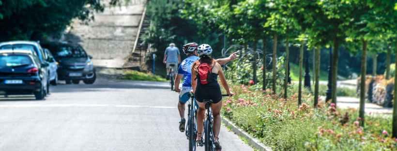 consigli per muoversi sulle strade in bicicletta