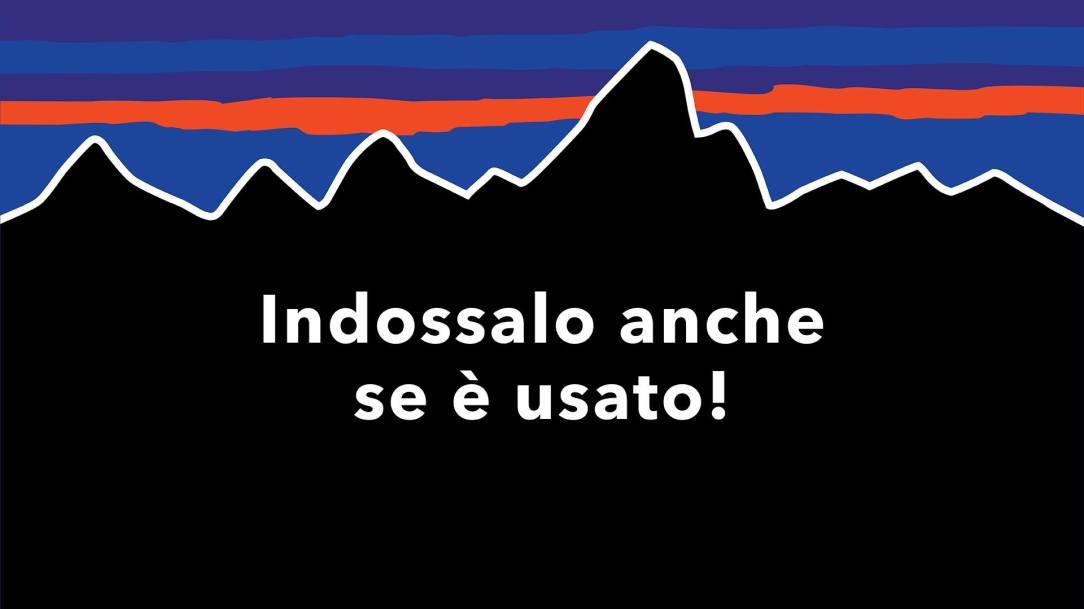 acquisti consapevoli patagonia negozio temporaneo usato certificato