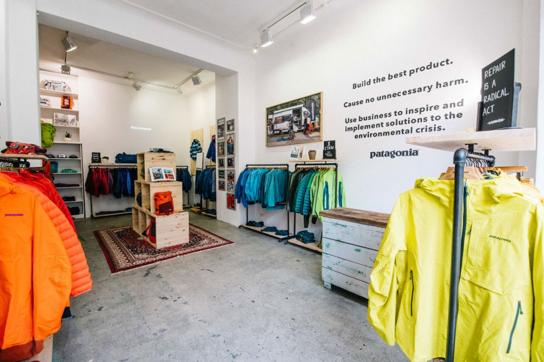 negozio patagonia milano temporaneo