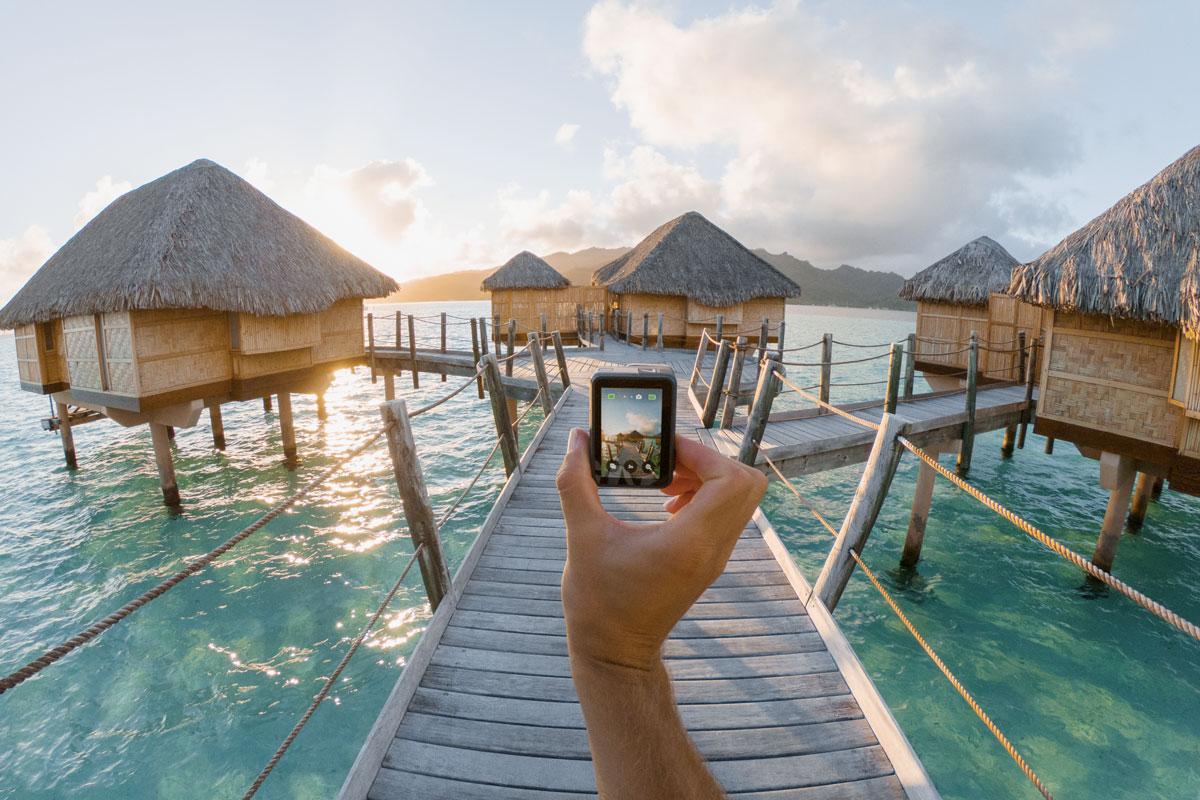Scatta e pubblica sui tuoi social in diretta con GoPro Hero7
