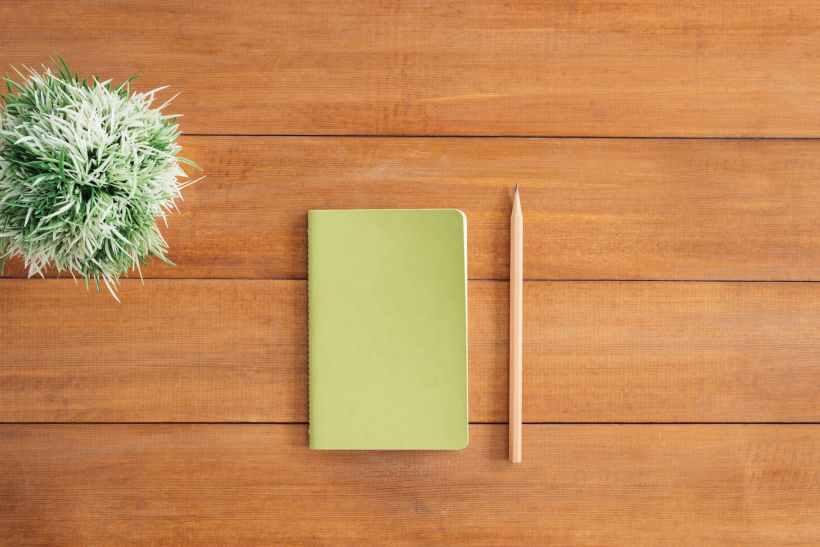 agenda degli appunti e matita è ora di scrivere