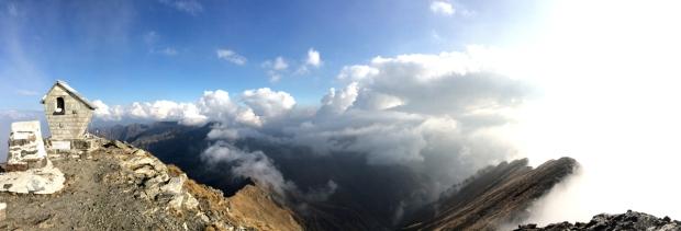 panoramica dalla vetta del monte legnone