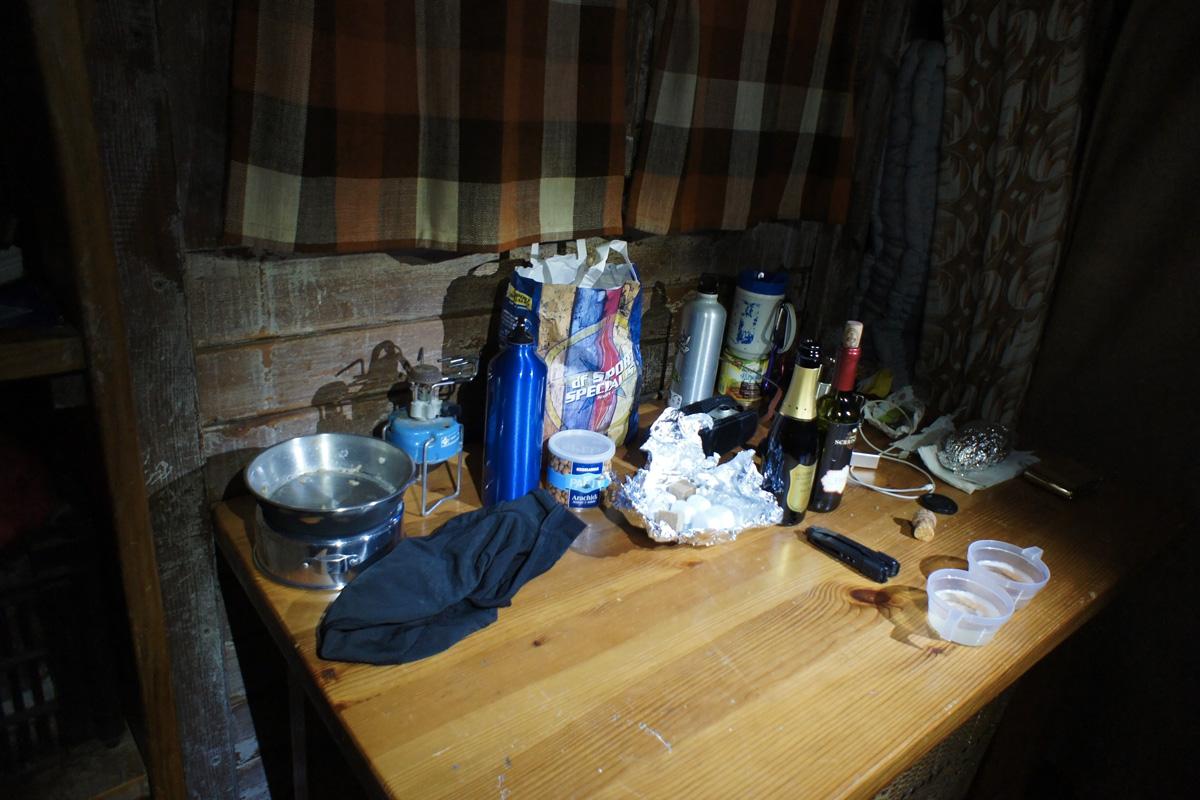 capodanno in quota al bivacco invernale del rifugio benigni