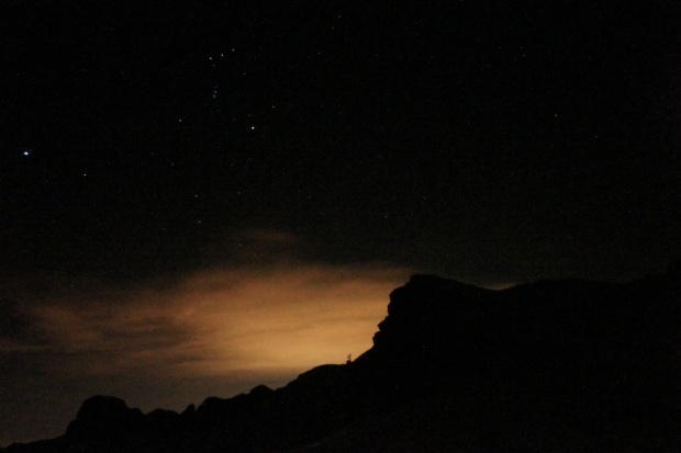 scattare foto alle stelle in montagna