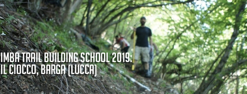 imparare a costruire sentieri per mountain bike al ciocco imba trail building school