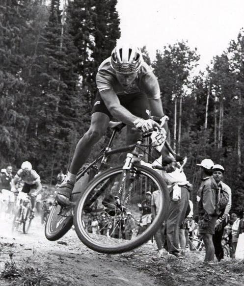 john tomac vince il mondiale cross country 1991 al ciocco su una bici gravel