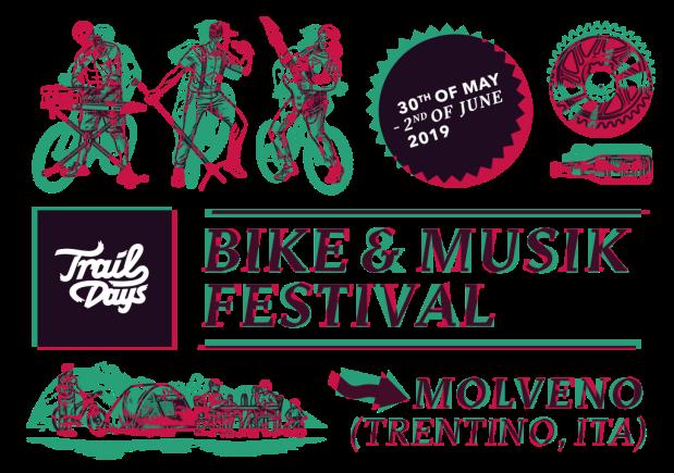 il manifesto dei trail days il bike e music festival di molveno