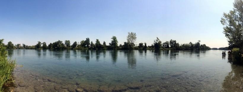 percorso ciclabile da milano al fiume adda