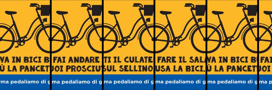 a parma pedalano di gusto promozione della bicicletta
