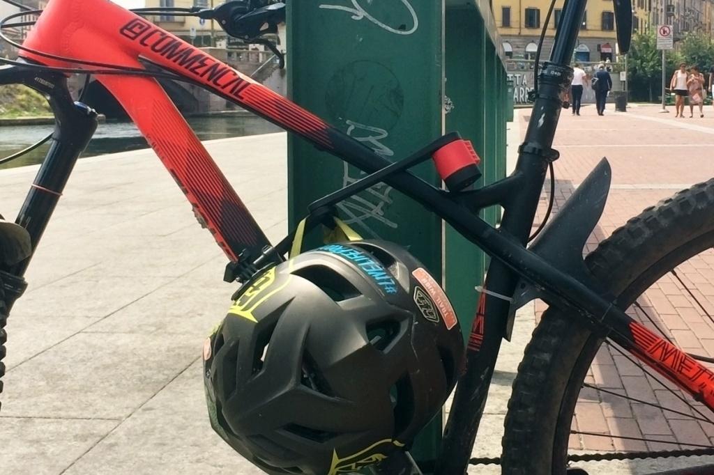 lucchetto per bicicletta foldylock clipster di seatylock sicuro affidabile antifurto