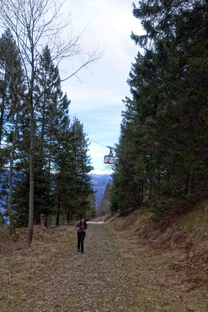 escursione a piedi stresa alpino mottarone