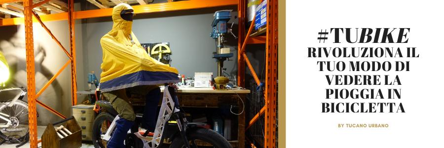 tubike abbigliamento antipioggia bicicletta tucano urbano